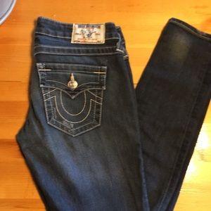 True Religion Skinny Jeans Size 27 X30